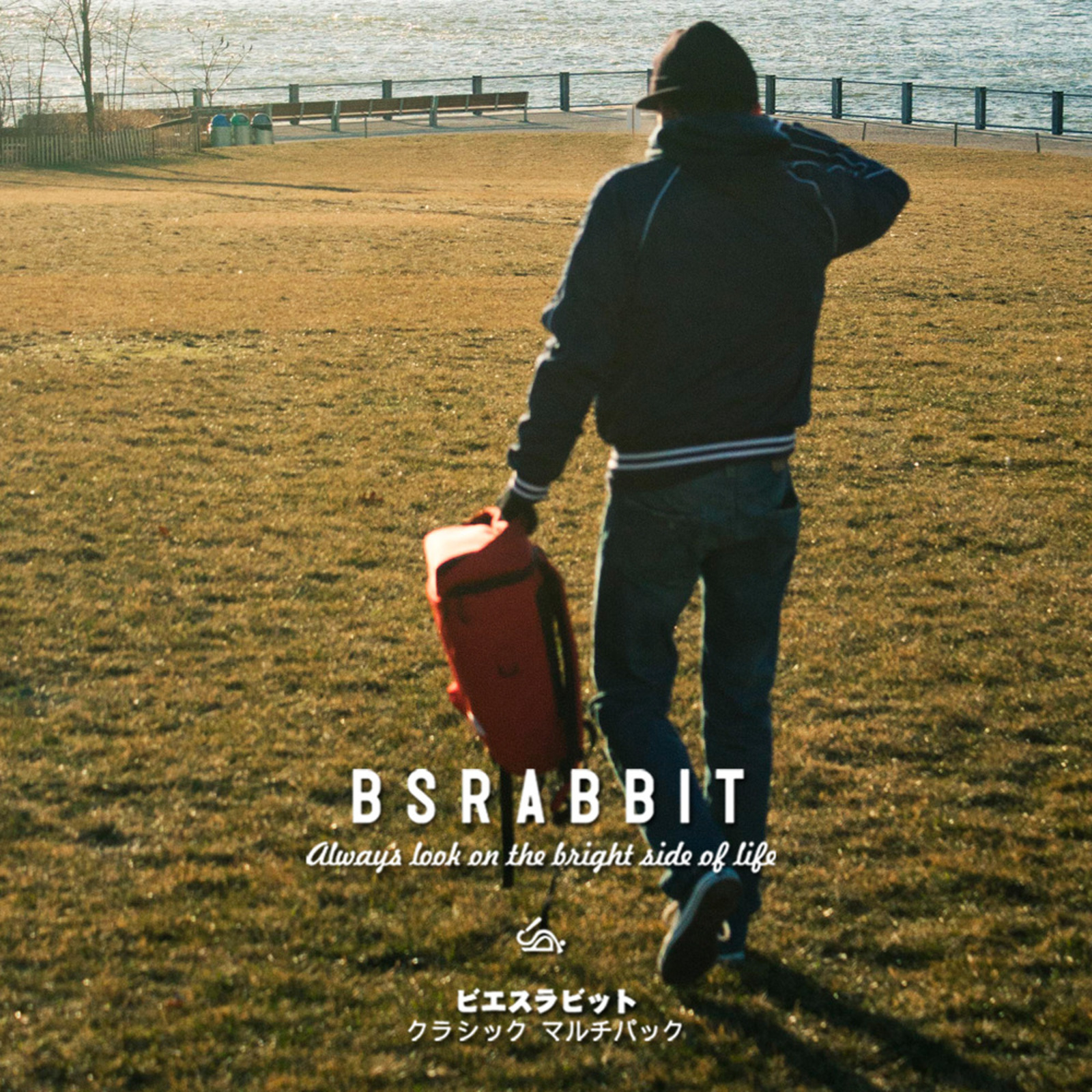 BSRABBIT 1213 LOOKBOOK BACKPACK in NEWYORK