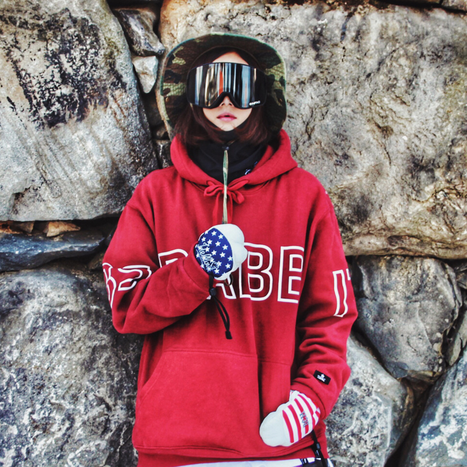 BSRABBIT 1516 SNOWBOARD Part.2  LOOKBOOK