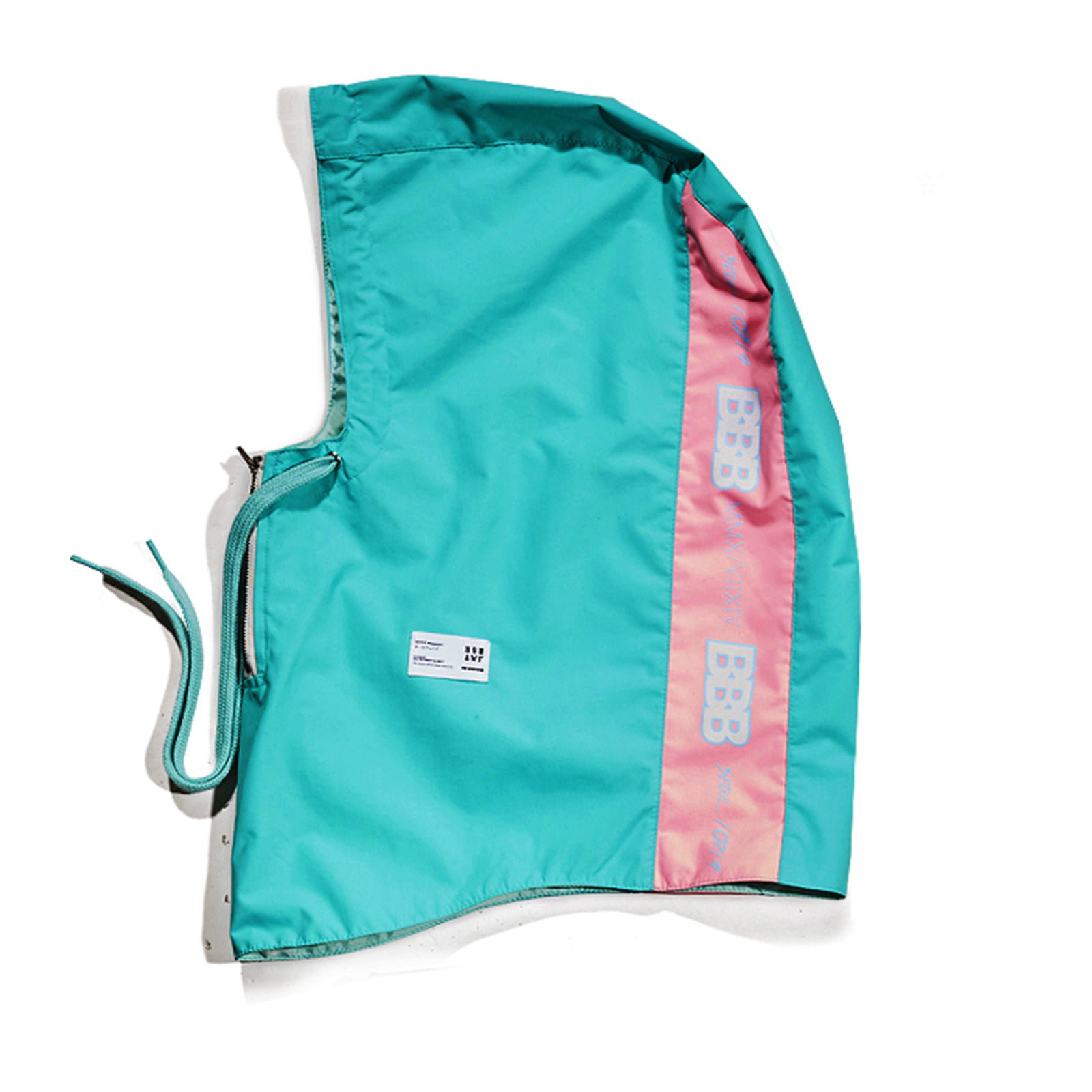 BBB Waterproof ZIP UP HOODWARMER MINT