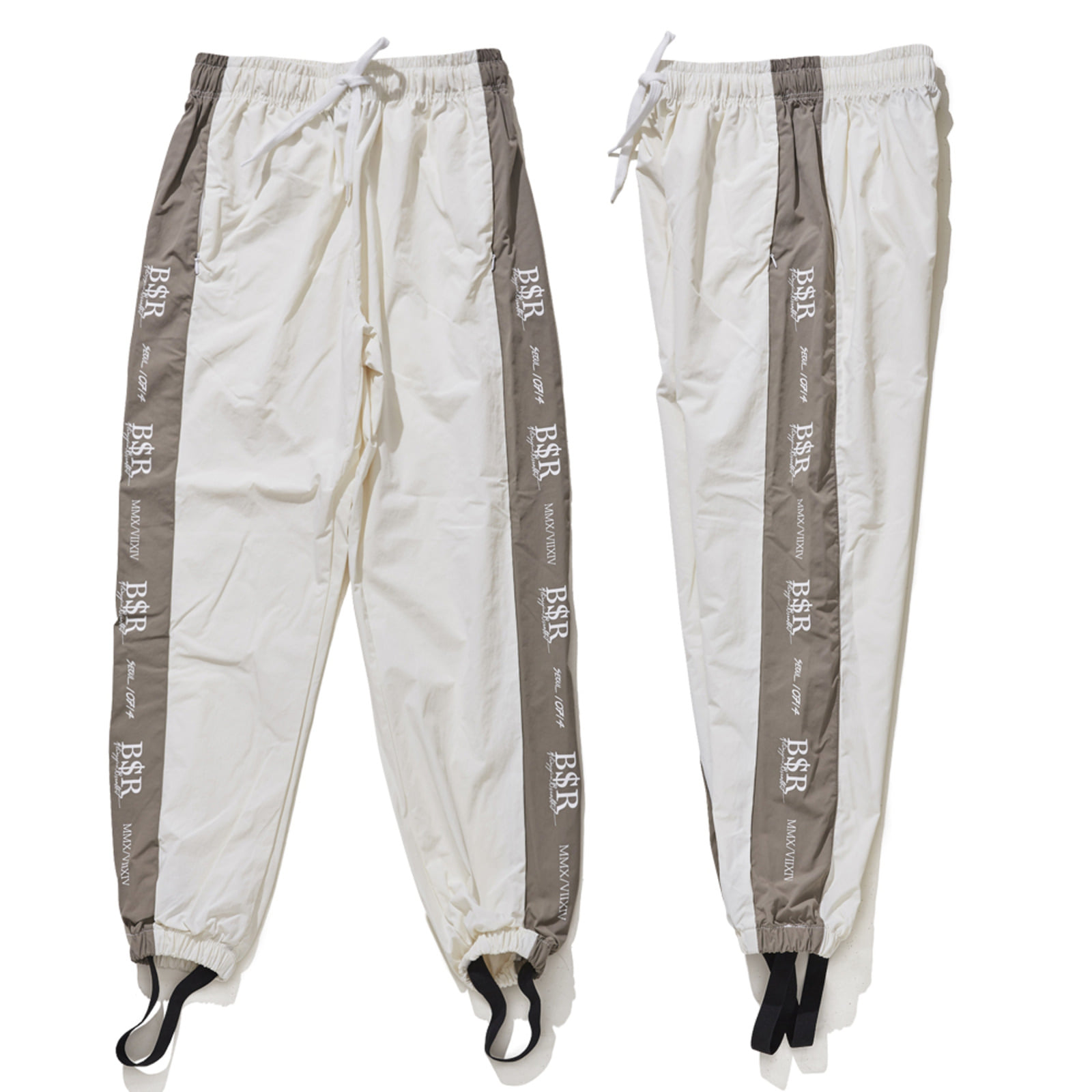 BSR JOGGER PANTS WHITE