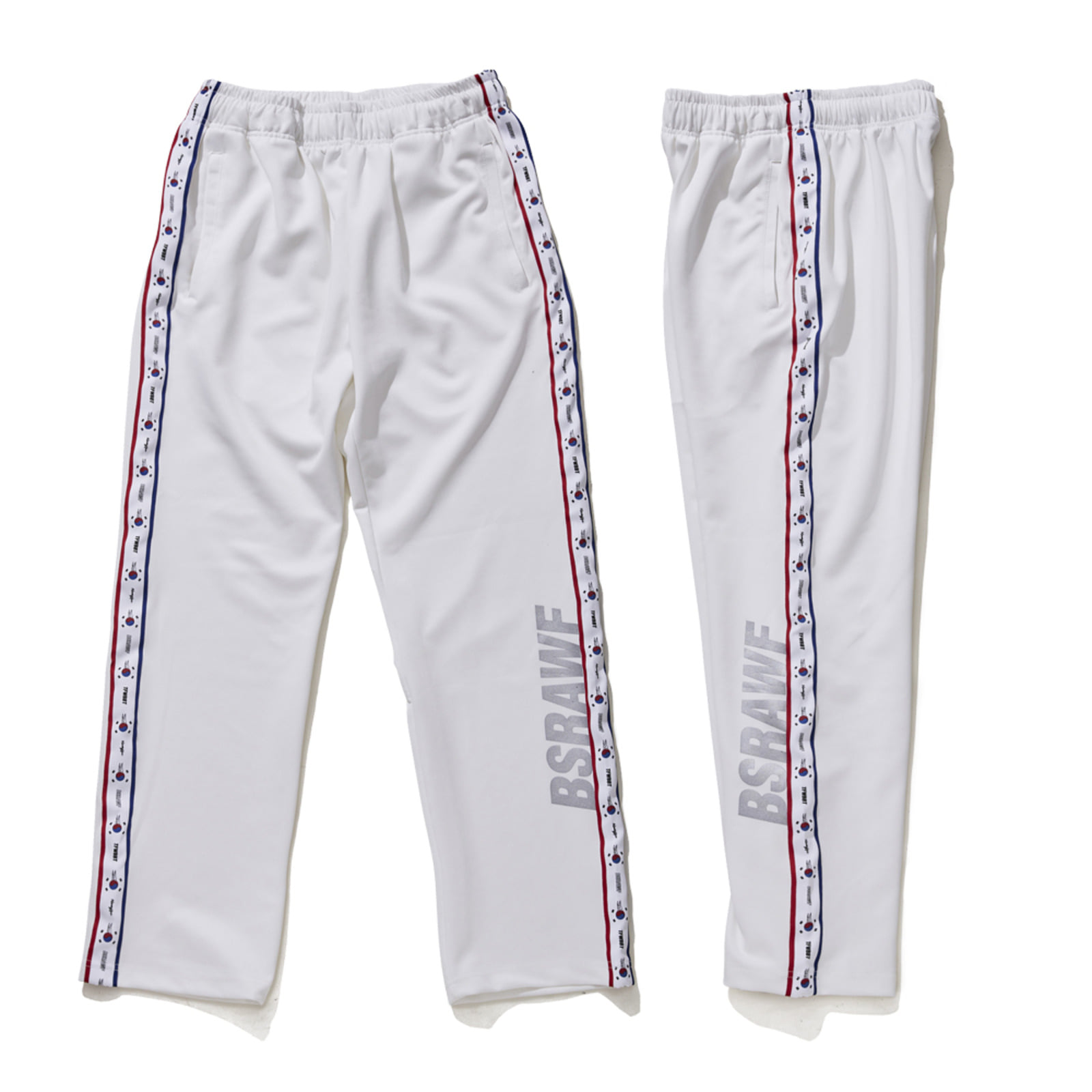 GR KOREA TRACK PANTS WHITE