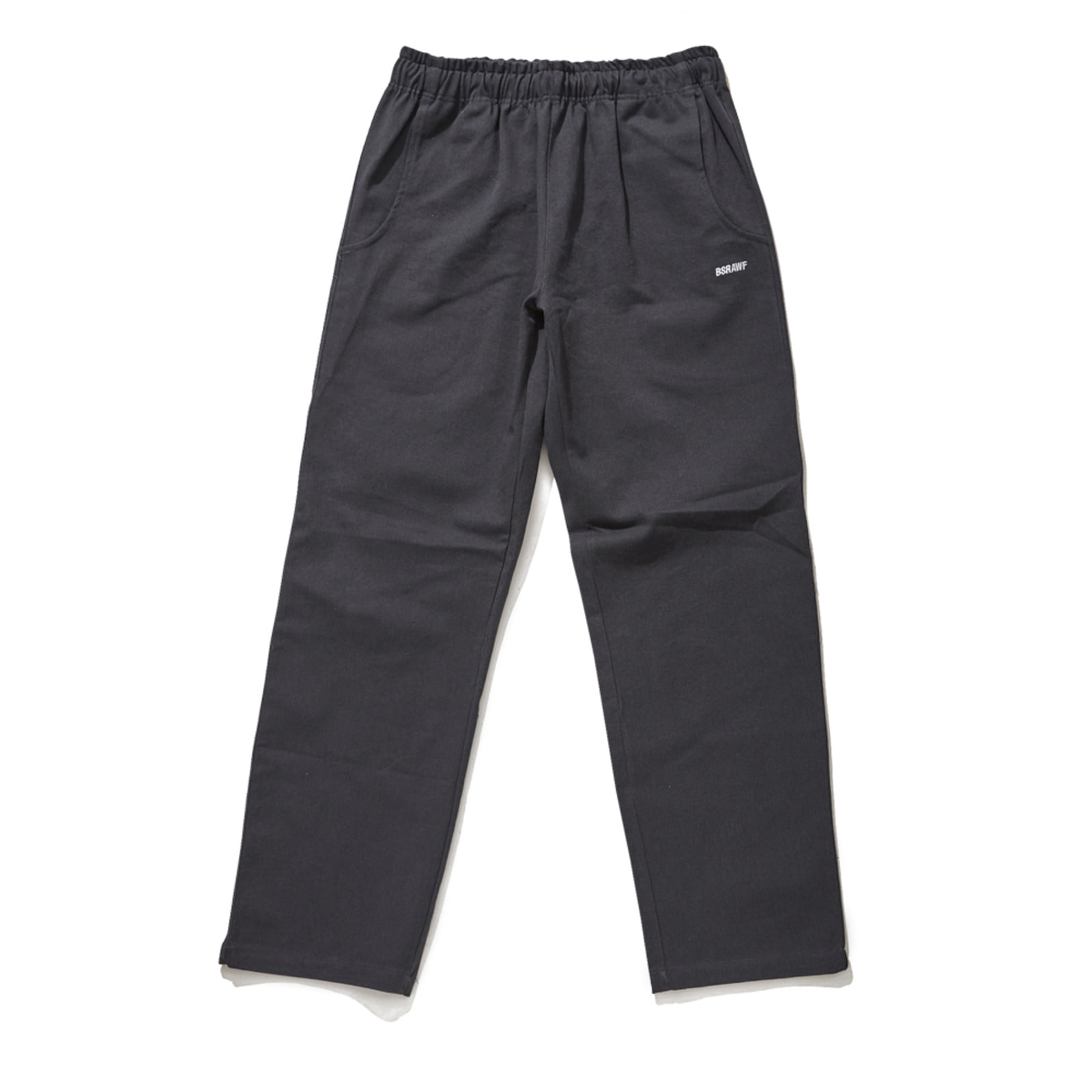 BSR COTTON BASIC TRACK PANTS CHARCOAL