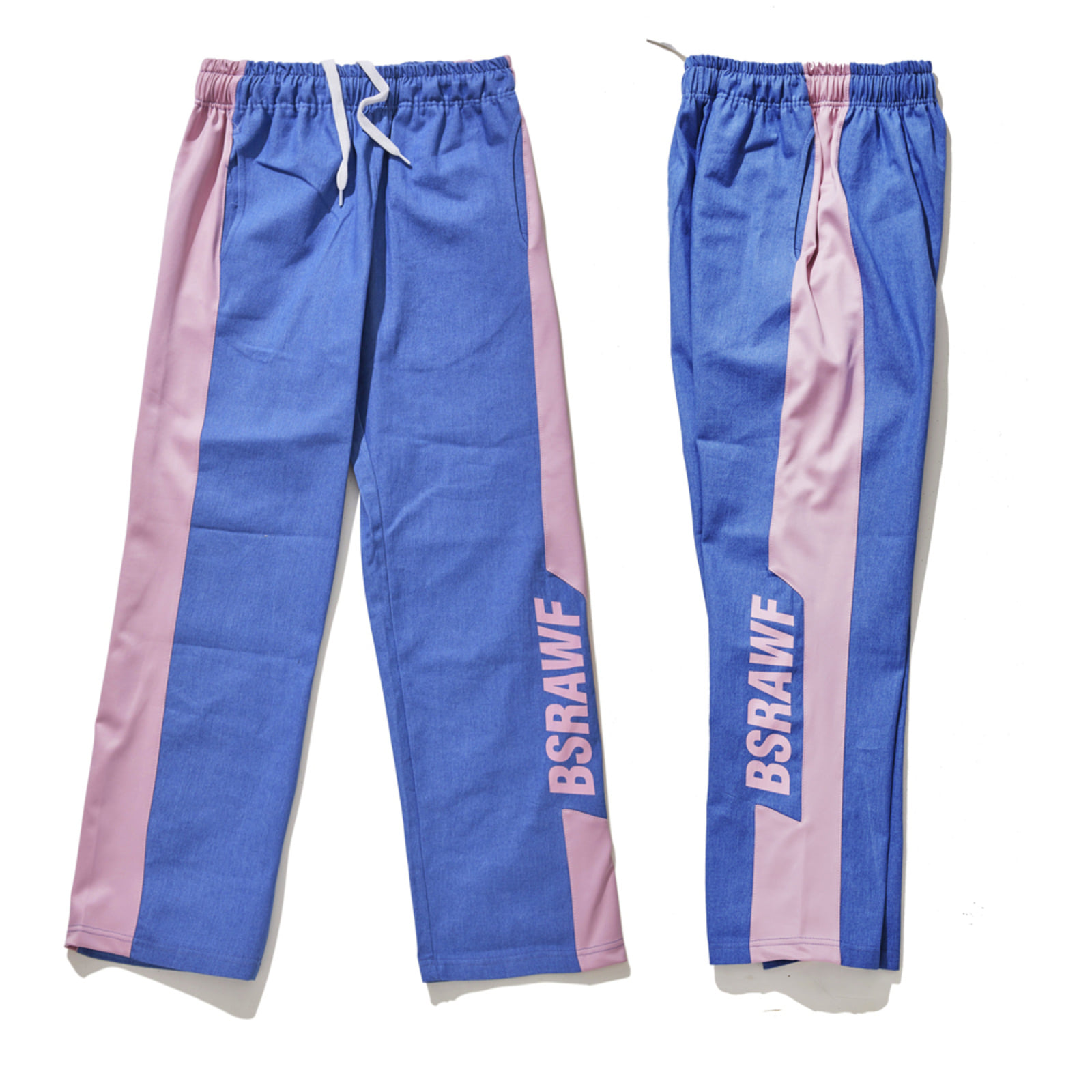 BSRAWF TRACK PANTS DENIM