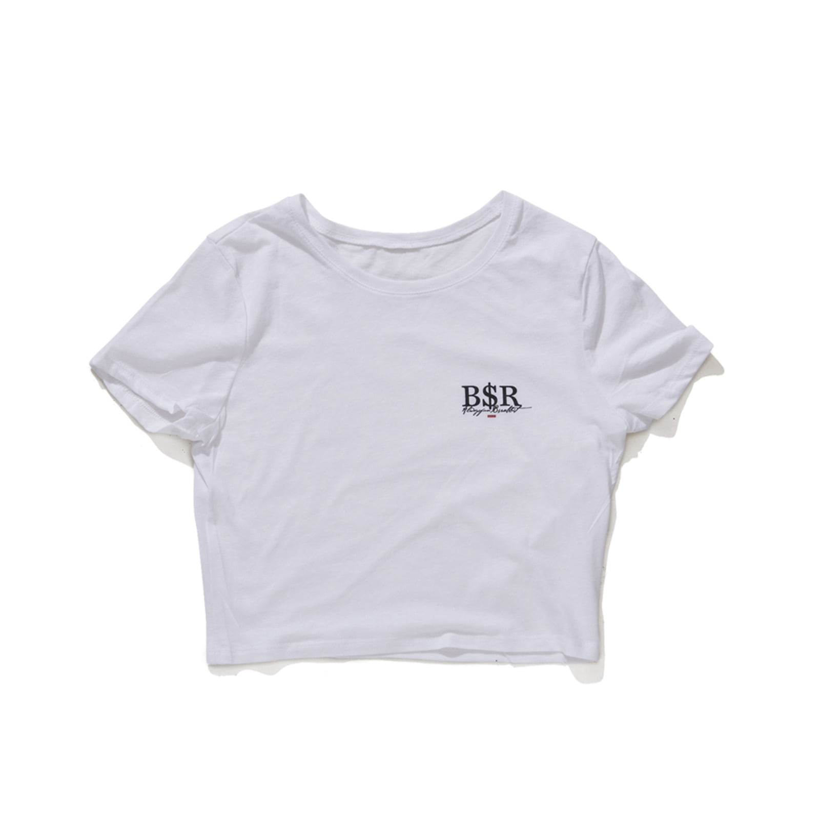 BSR CROP T-SHIRT WHITE