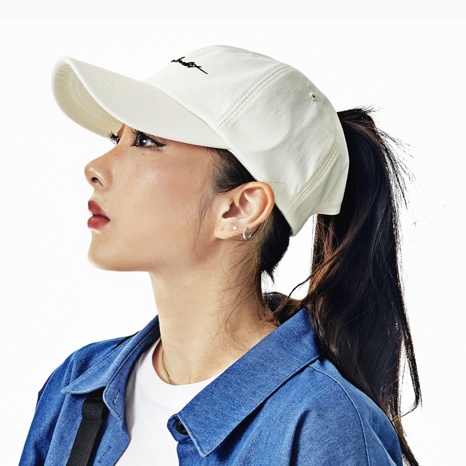 BSR OPEN ZIPPER CAP WHITE [10/10 예약발송]
