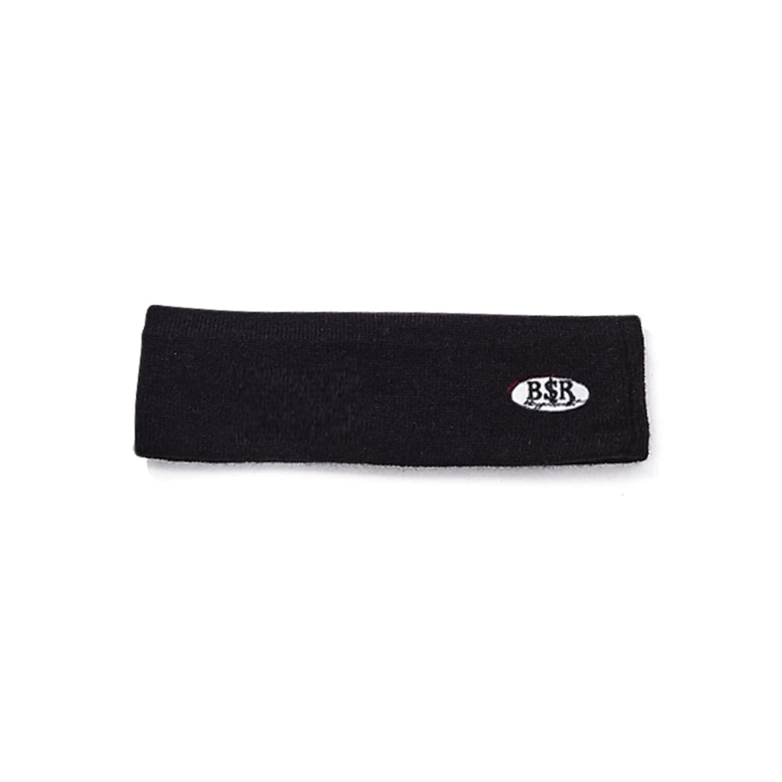 BSR WAPPEN KNIT HEADBAND BLACK