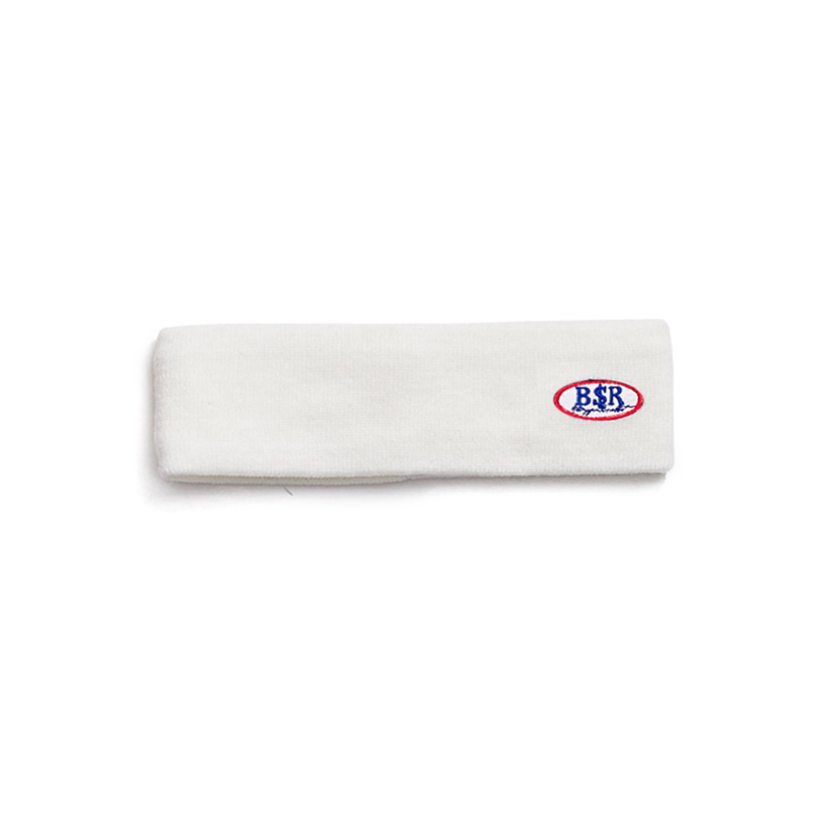 BSR WAPPEN KNIT HEADBAND WHITE