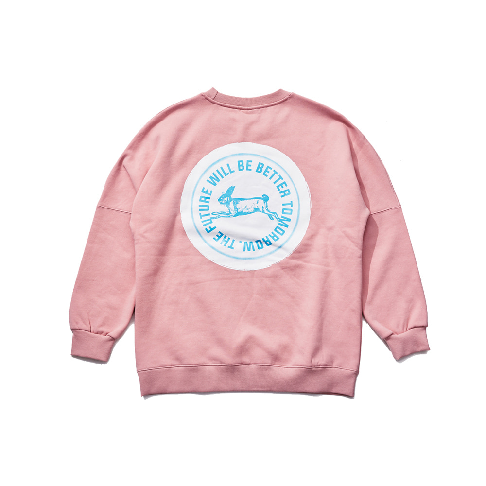 HANG LOOSE CREWNECK INDY PINK