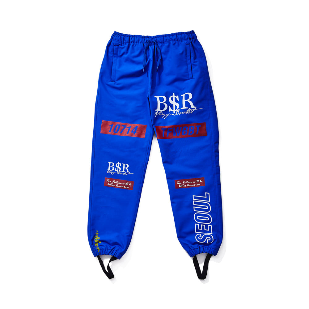 TFWBBT WATERPROOF JOGGER PANTS BLUE