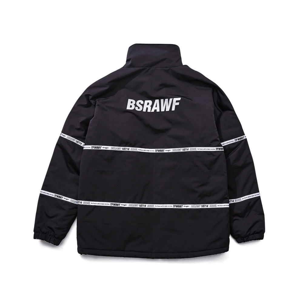 TIDY HN STADIUM JACKET BLACK