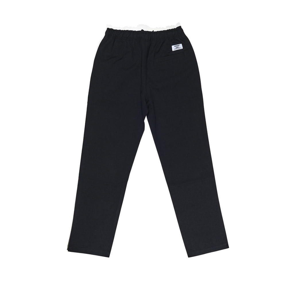 BSRABBIT BSRABBIT CFTB COTTON TRACK PANTS BLACK