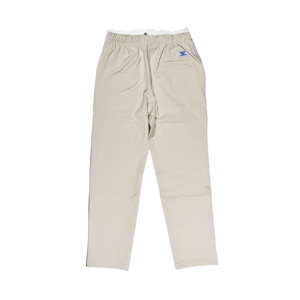 BSRABBIT CFTB COTTON TRACK PANTS IVORY