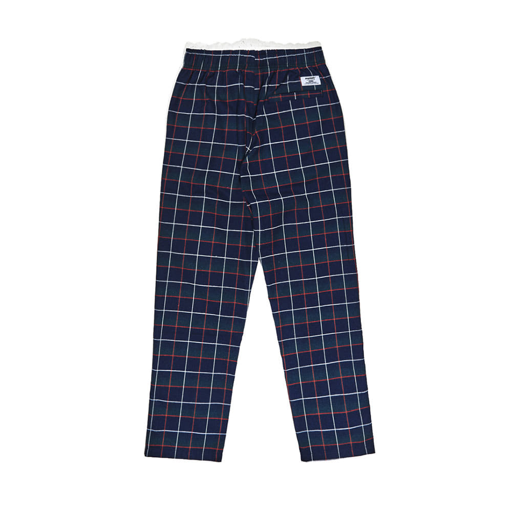 BSRABBIT CFTB COTTON TRACK PANTS CHECK