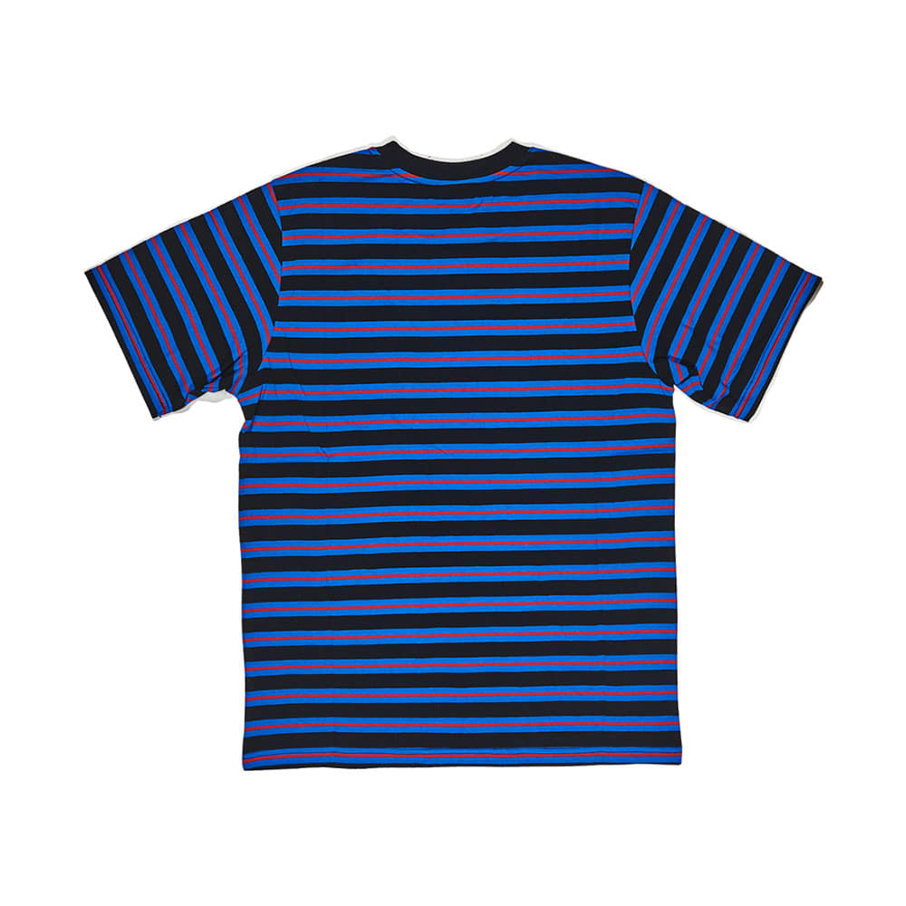 BSRABBIT THE BSR T-SHIRT STRIPE BLACK