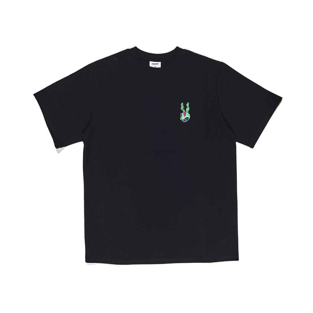 INTO GR T-SHIRT BLACK