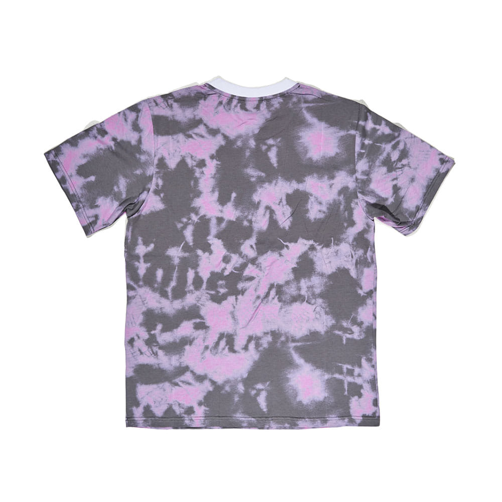 BSRABBIT HOPE LOGO T-SHIRT GRAY PINK