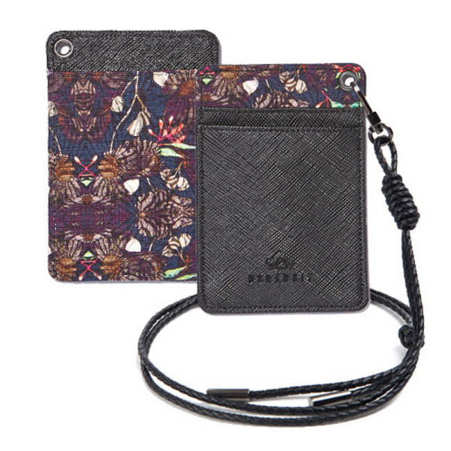 BS CARD HOLDER CYNICAL FLOWER