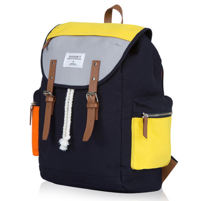 BS.CLASSIC POCKET BACKPACK Yellow&Orange