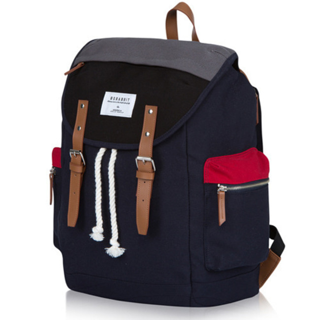 BS.CLASSIC POCKET BACKPACK Red&Navy