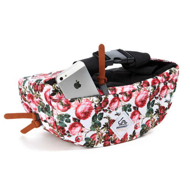BS.Division Waist Bag Real flower