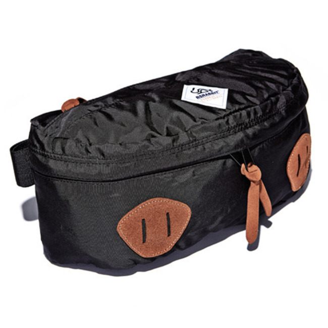 NEW BS.Division Waist Bag Black