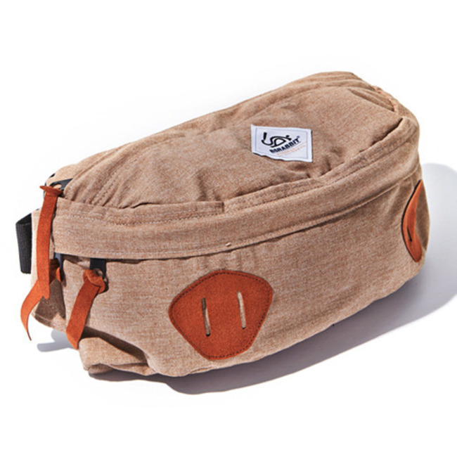 BS. Division Waist Bag_Cork Beige