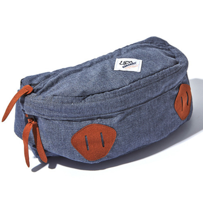 BS. Division Waist Bag Cork denim