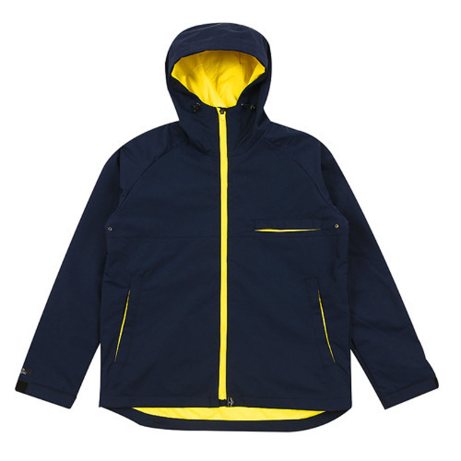 Real B jacket NAVY&YELLOW
