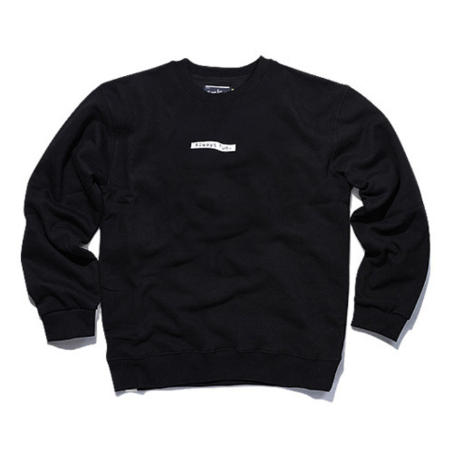 ALWAYS FUN CREWNECK BLACK