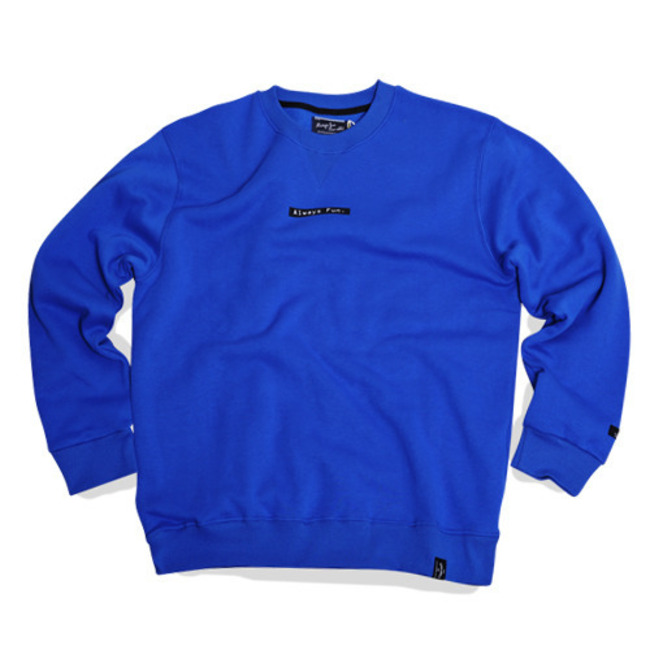 ALWAYS FUN CREWNECK BLUE