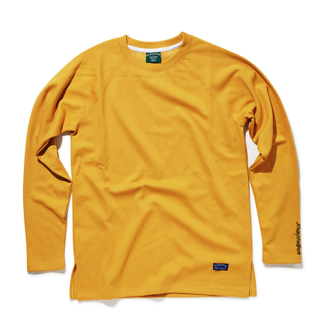 Layered Sleeves_MUSTARD