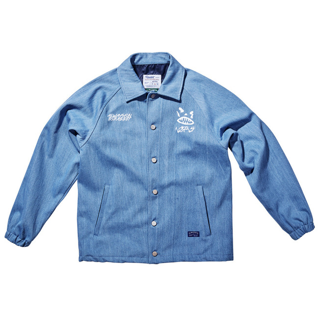 BSR_Denim COACH JACKET