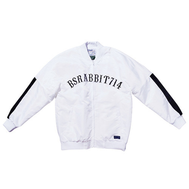 Invincible stadium jacket WHITE