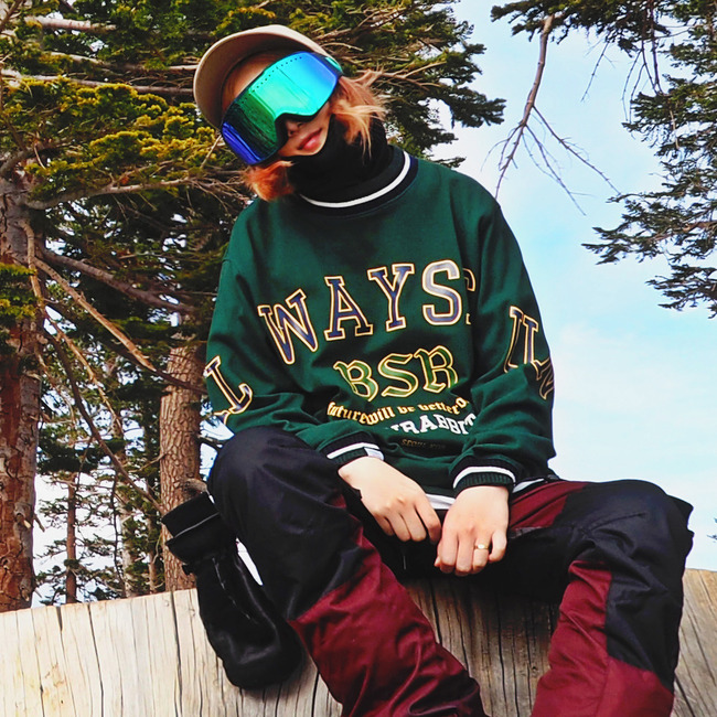 Always SP CREWNECK GREEN
