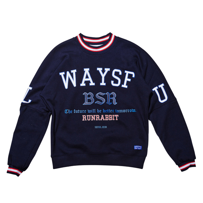 Always SP CREWNECK NAVY