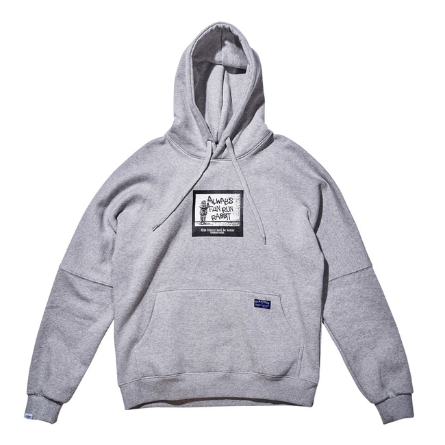 BSRB Mono Memory HOODIE GRAY