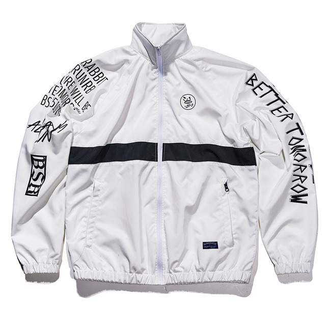 Crush track jacket White [예약중]