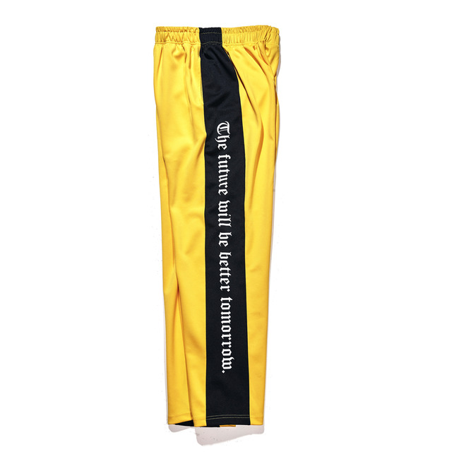 Modern Line track pants Yellow