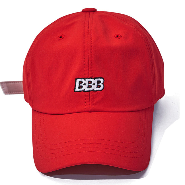 BBB NYLON STRAPBACK RED