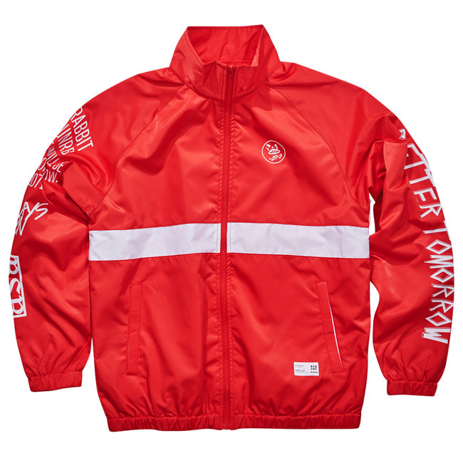Crush track jacket RED