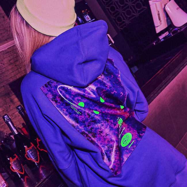 Anthonysworld  HOODIE PURPLE