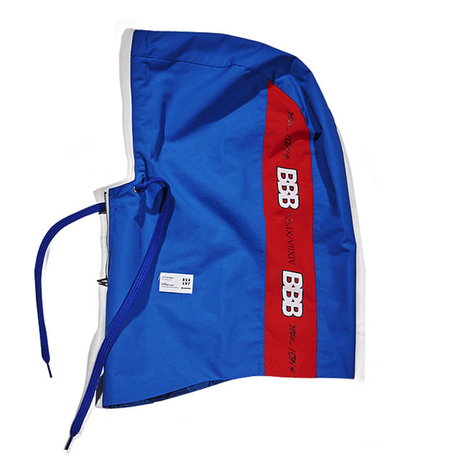 BBB Waterproof ZIP UP HOODWARMER BLUE