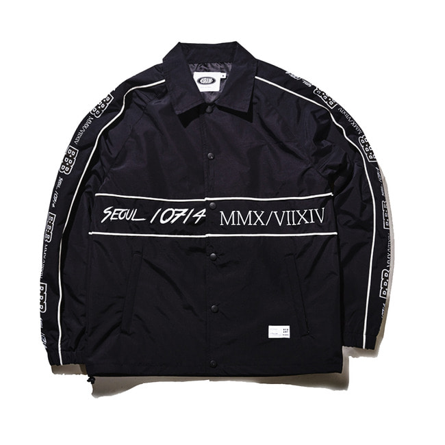 BBB COACH JACKET BLACK