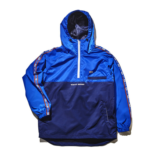 Intense anorak jacket BLUE