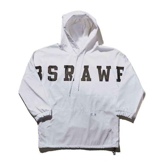 BSRAWF PULLOVER WHITE