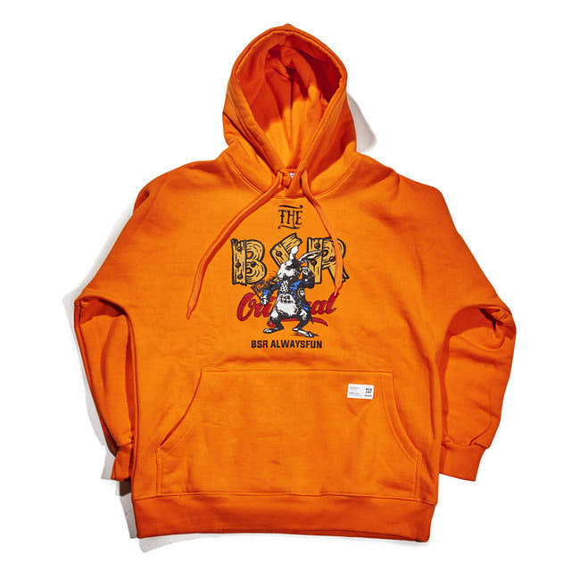 THE BR HOODIE ORANGE