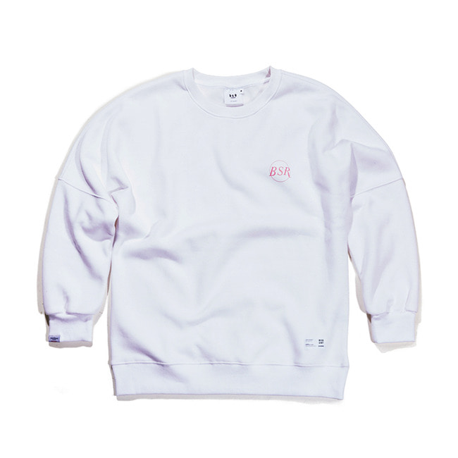 THE B CREWNECK WHITE