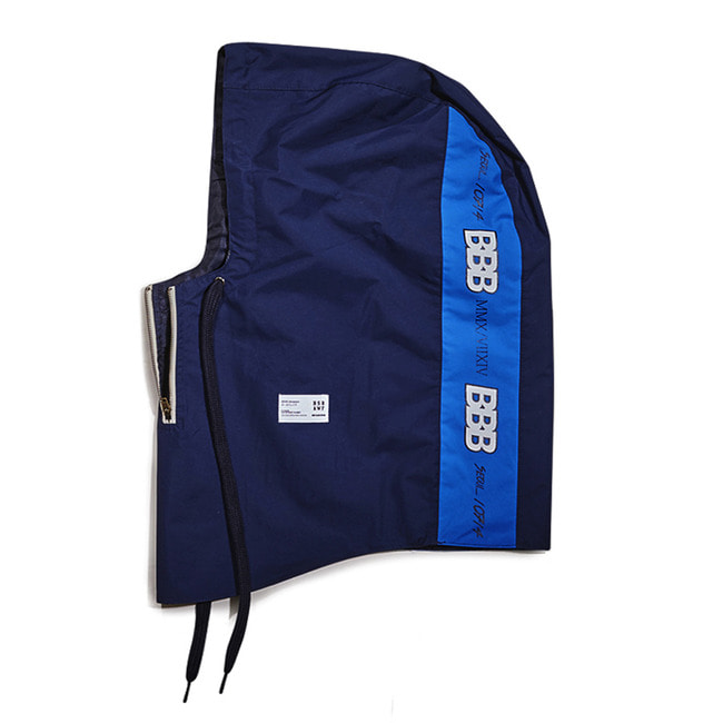BBB Waterproof ZIP UP HOODWARMER NAVY