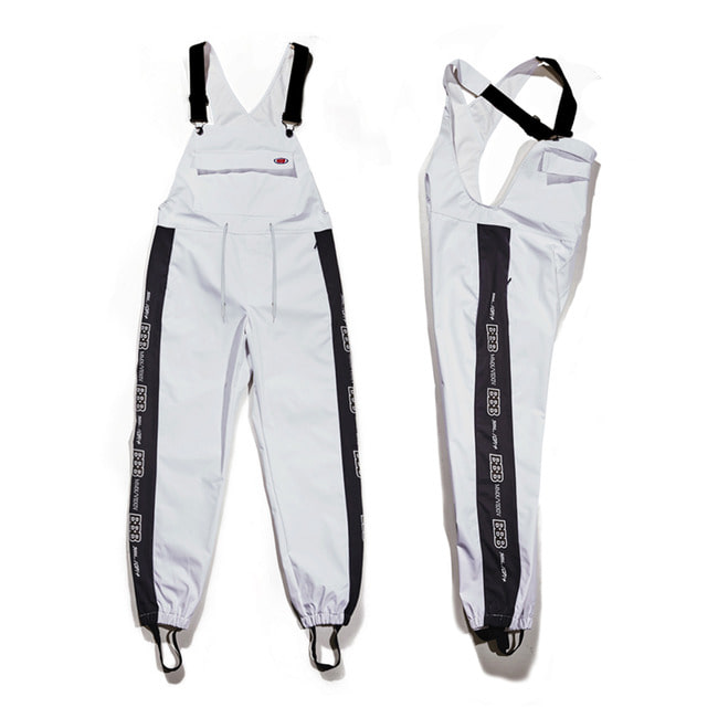 BBB Waterproof overall jogger pants White