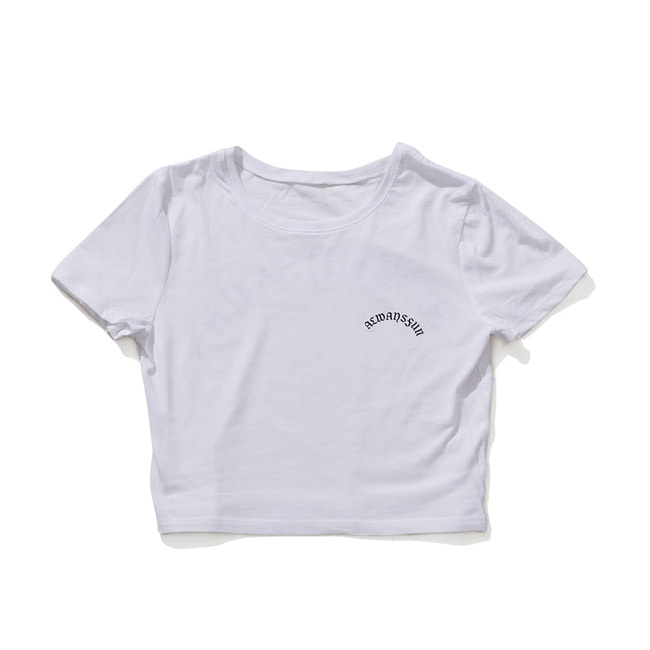 ALWAYSFUN CROP T-SHIRT WHITE [4/9 예약배송]